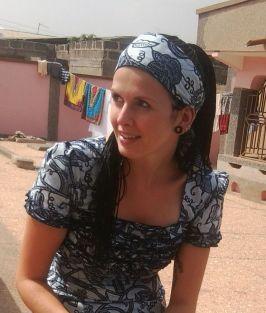 Ilona Westphal, M.A. in Ghana 2012