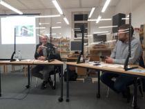 Tobias von Pein, MdL (rechtsextremismuspolitische Sprecher der SPD-Fraktion im Landtag von Schleswig-Holstein), Dr. Christian Testorf (Julius-Leber-Forum der Friedrich-Ebert-Stiftung in Hamburg)